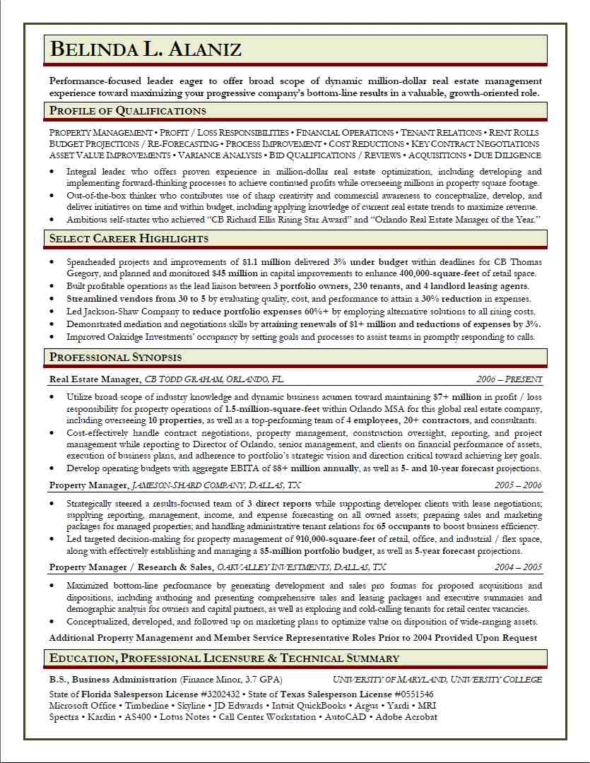 Sample Resume From Our Writers  Professional Resume Writing